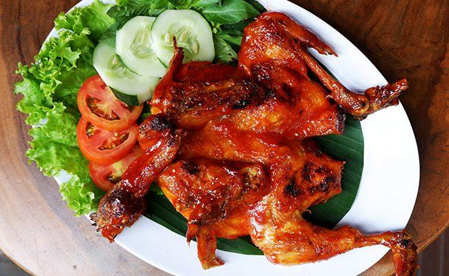 Ayam dan Gurami Bakar Saos Madu