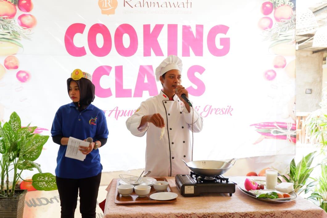 Asah Bakat Anak, Warung Apung Rahmawati Gelar Cooking Class Bersama TK Roudlotul Jannah